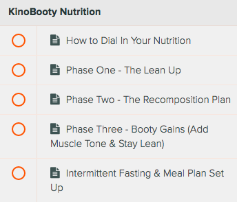 KinoBooty Program Review: How to lose weight and build your