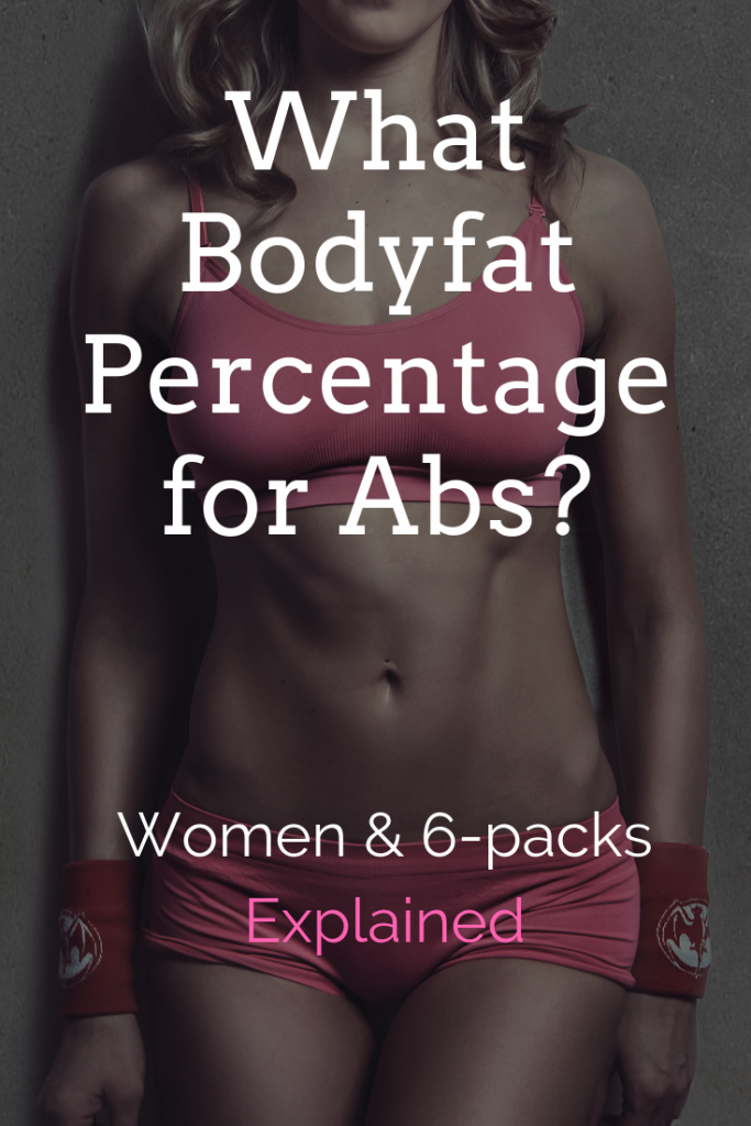 What Bodyfat Percentage for Abs? (Female): How women can get toned abs