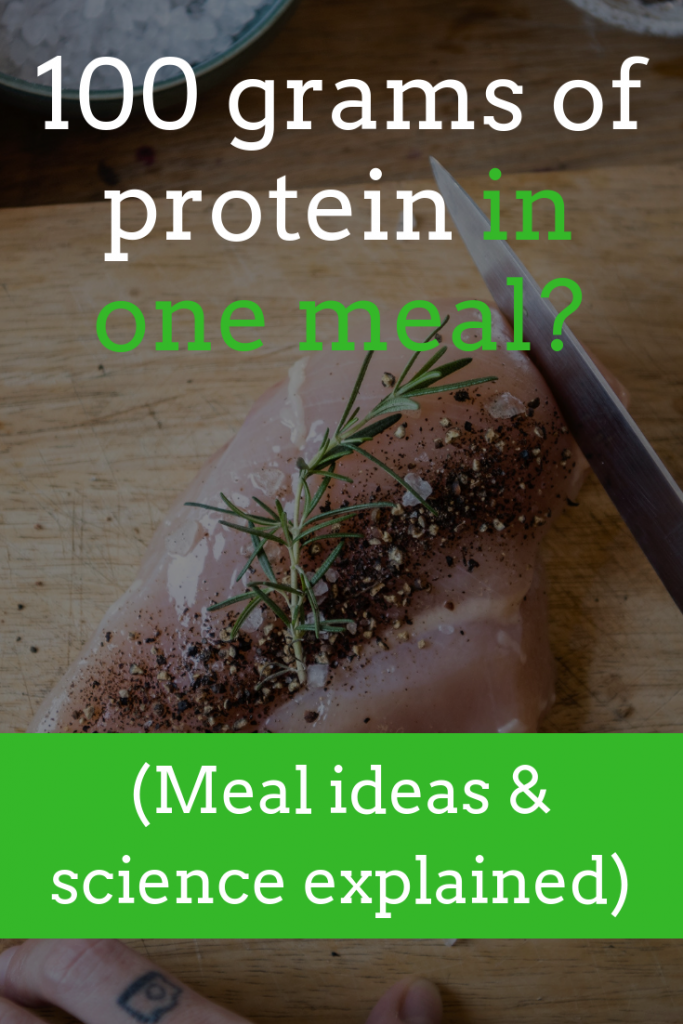 How to get 100+ grams of protein in one meal (and if you should)