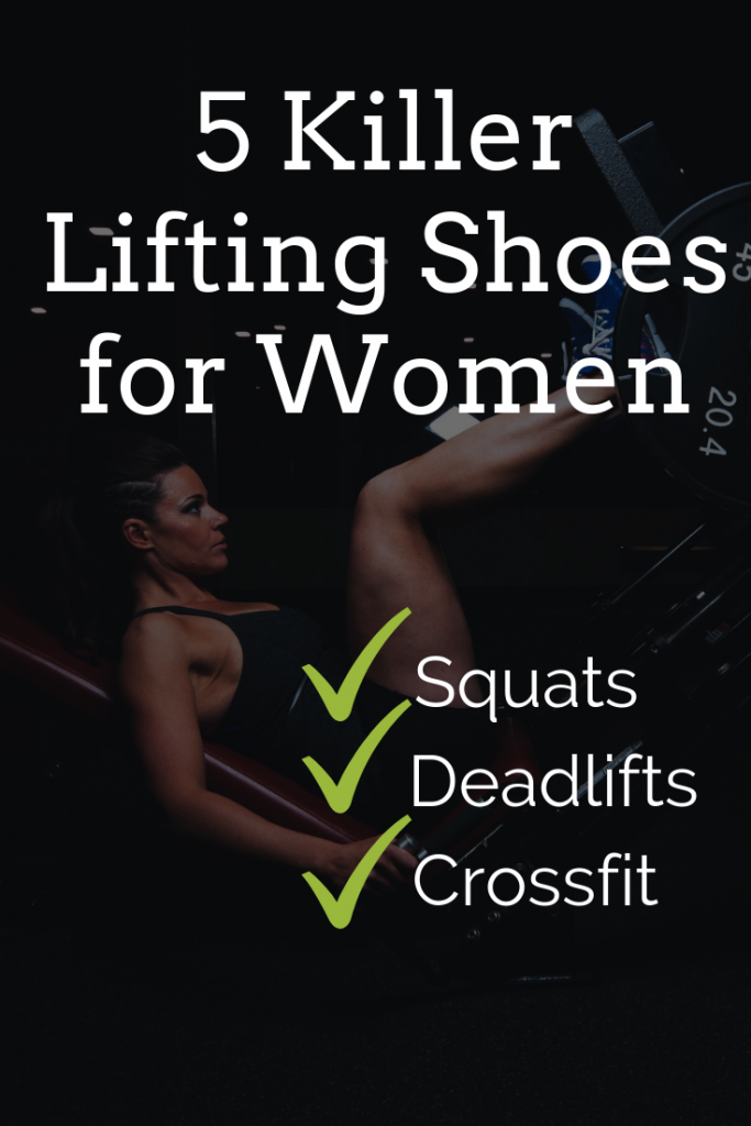 5 best lifting shoes for women (Awesome for squats, deadlifts & CrossFit)
