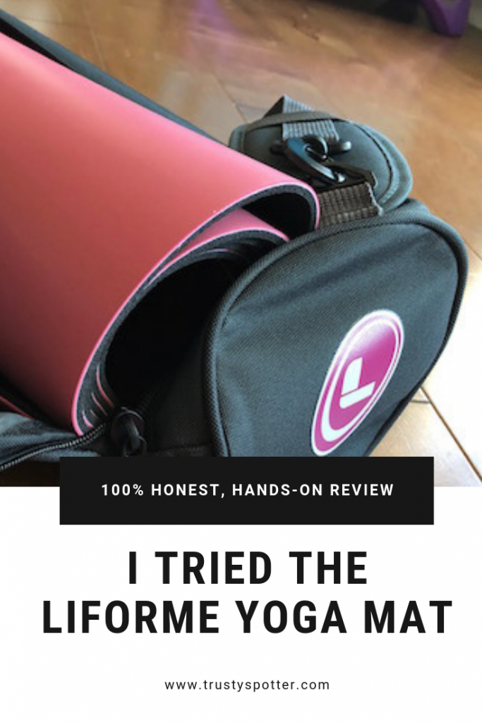 I tried the Liforme yoga mat. Here's what I thought. (Review)