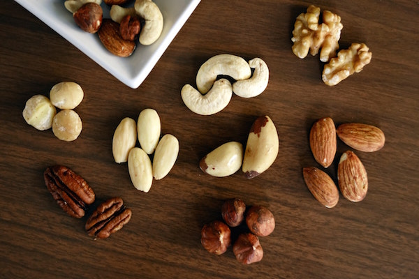 Nuts for calories while bulking