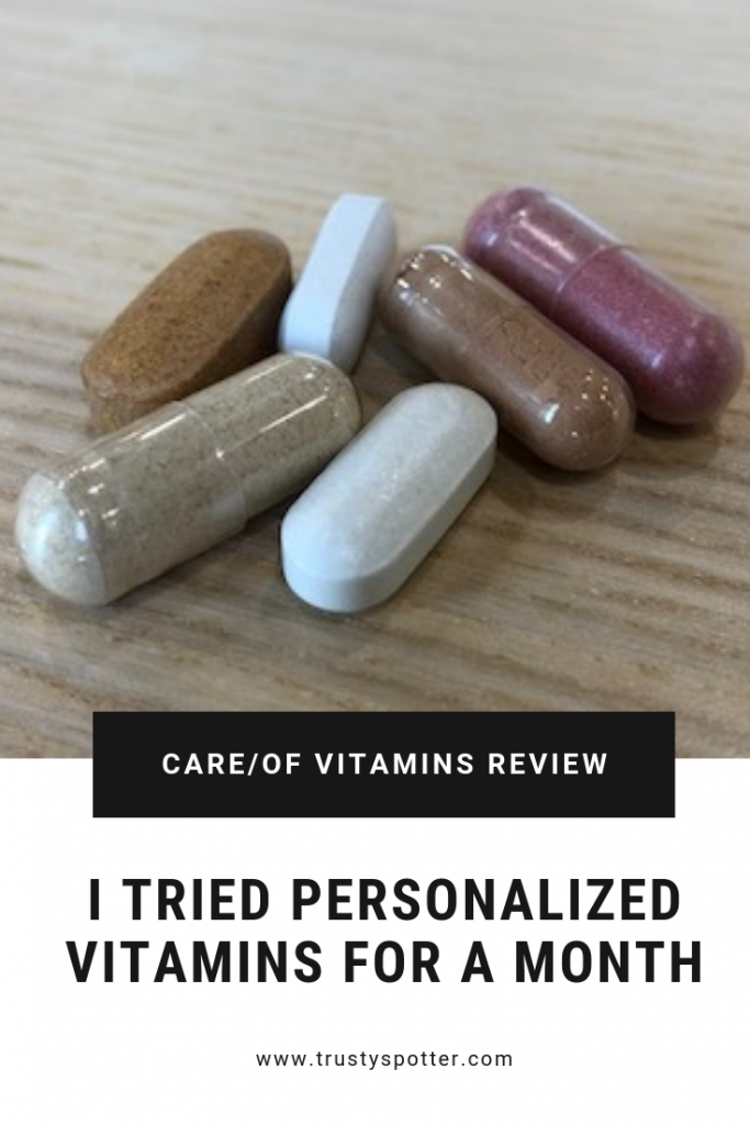 I tried Care/Of Vitamins for a month. Here's my honest review.